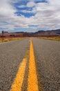 Empty road Royalty Free Stock Photo
