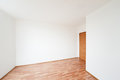 Empty room with door Stock Photography