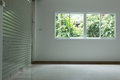 Empty room in house residential building
