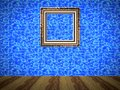 Empty room with picture generated texture Royalty Free Stock Photo