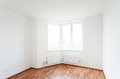 Empty room with window white Stock Photo
