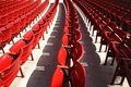 Empty rows. Royalty Free Stock Photography