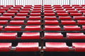 Empty seats in stadium Royalty Free Stock Photography