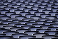 Empty seats in a stadium Stock Image