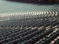 Empty seats in a stadium Royalty Free Stock Photo