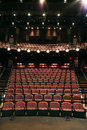 Empty Seats in Theater Royalty Free Stock Images