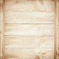 Empty Shelves On Wooden Backgr...