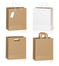 Empty shopping bag Royalty Free Stock Image