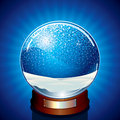 Empty Snow Globe Stock Images