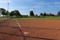 Empty Softball Field Royalty Free Stock Photo