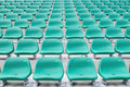 Empty spectator chairs Royalty Free Stock Image