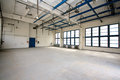 Empty storehouse picture of an Stock Image