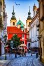 Prague Old Town Street. Royalty Free Stock Photo