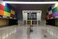 Empty subway station Royalty Free Stock Photo