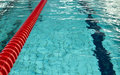 Empty swimming pool lane Royalty Free Stock Image