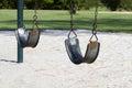 Empty Swings Royalty Free Stock Photo