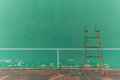 Empty tennis knock board which is not in use Royalty Free Stock Photography