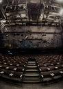 Empty theatre interior Royalty Free Stock Photo