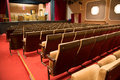 Empty theatre with stage Royalty Free Stock Photo