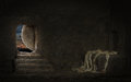 Empty Tomb of Jesus Royalty Free Stock Photo