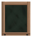Empty Vertical Blackboard Fram...