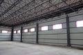 Empty warehouse Royalty Free Stock Photo