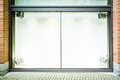 Empty window display Royalty Free Stock Photo