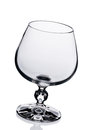 Empty wine glass. Royalty Free Stock Photography