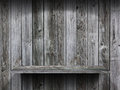 Empty wood shelf grunge interior background for display object Stock Photo