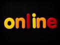 En ligne Images stock