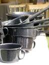 Enamel Cookware Royalty Free Stock Photos