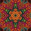 Enamel kaleidoscope Royalty Free Stock Photo
