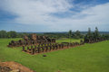 Encarnacion and jesuit ruins in paraguay scenic south america Stock Photos