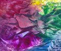 Encaustic background abstract with wax effect Royalty Free Stock Image