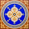 Encaustic Tile Royalty Free Stock Photography
