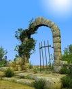 Enchanted Secret Garden Gate Arch