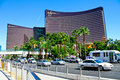 Encore and wynn las vegas luxury hotels on the strip in las vegas nv Royalty Free Stock Photography