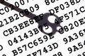 Encryption key concept Royalty Free Stock Photo