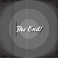 The end background template vector abstract wallpaper Stock Photo