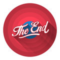 The End Royalty Free Stock Photo