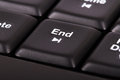 End key on computer keyboard Royalty Free Stock Photography