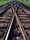 The end of the line Stock Photography