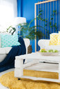 End table in living room Royalty Free Stock Photo