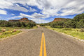 Endless Boynton Pass road in Sedona, Arizona, USA Royalty Free Stock Photo