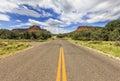Endless Boynton Pass road in Sedona, Arizona, USA Royalty Free Stock Photo