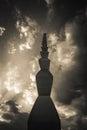 Endless Column by Constantin Brancusi Royalty Free Stock Photo