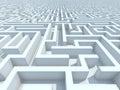 Endless Maze Royalty Free Stock Photo