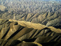 Endless Ridges, Afghanistan Stock Images