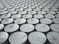Endless Stockpile of Tin Cans Royalty Free Stock Image