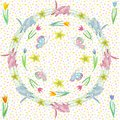 Endless texture for spring design, decoration, greeting cards